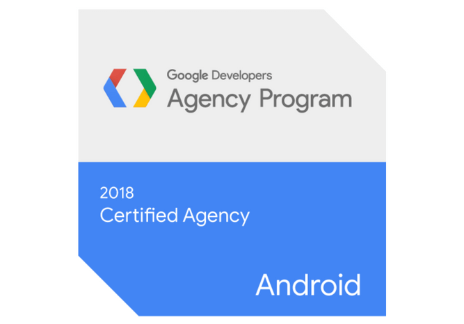 Google developers agency program 2018 certified agency